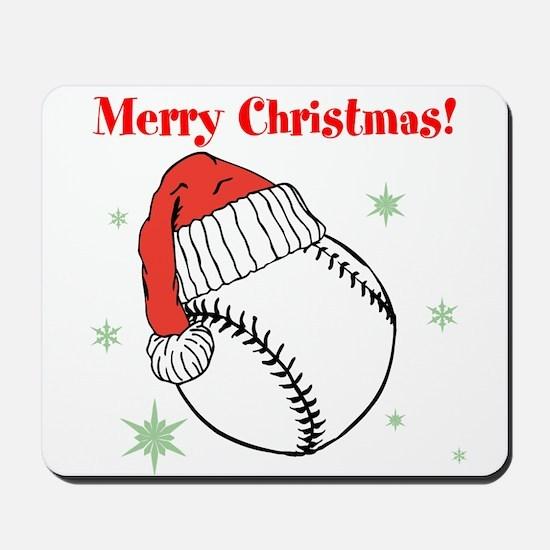 MerryChristmasBaseball Mousepad