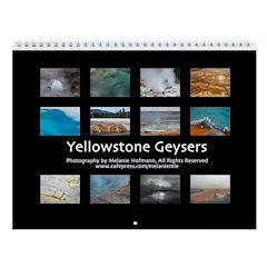 Yellowstone Geysers Wall Calendar