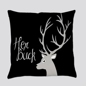 her buck Everyday Pillow