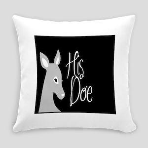 his doe Everyday Pillow