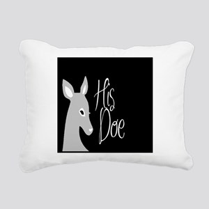 his doe Rectangular Canvas Pillow
