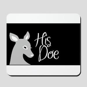 his doe Mousepad