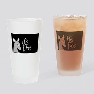 his doe Drinking Glass