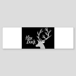 her buck Bumper Sticker