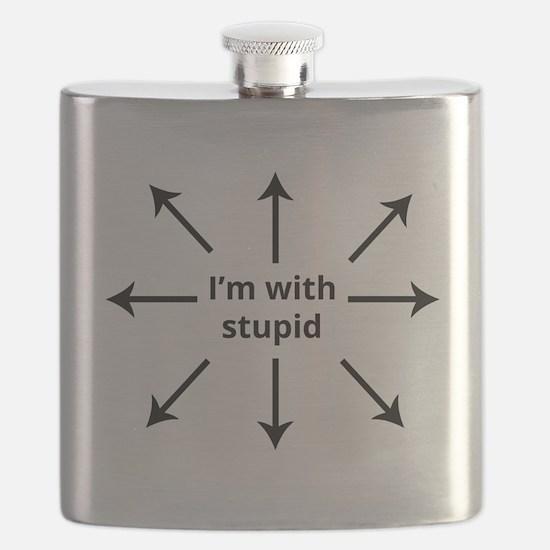 Funny Arrows Flask