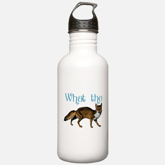 What the Fox Water Bottle