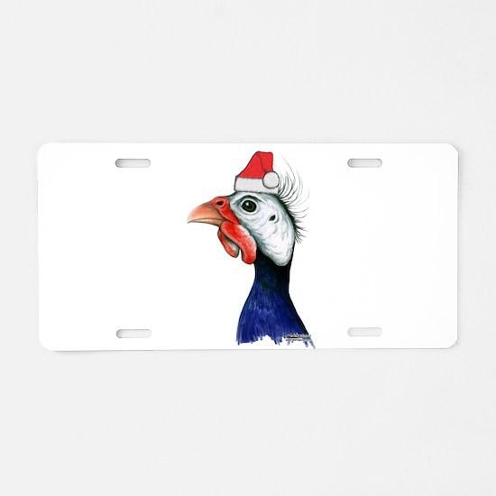 Guinea Santa Claus Aluminum License Plate