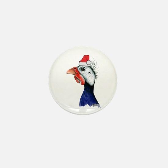 Guinea Santa Claus Mini Button