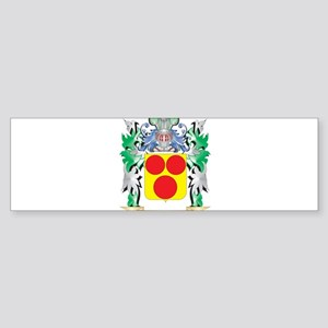 Gavin Coat of Arms (Family Crest) Bumper Sticker