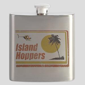 Island Hoppers Flask