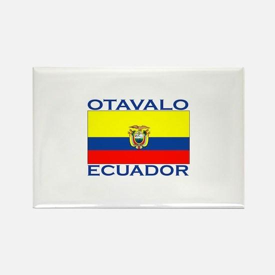 Otavalo, Ecuador Rectangle Magnet