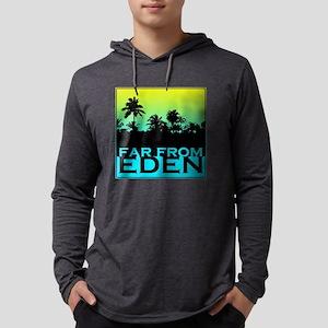 Far From Eden Yellow to Blue Long Sleeve T-Shirt