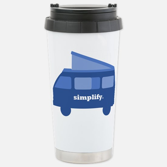 BusLife Simplify in blue Travel Mug