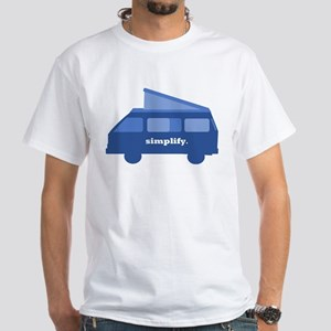 BusLife Simplify in blue T-Shirt