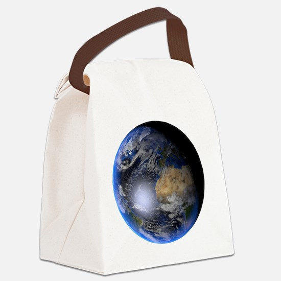 Funny Satanism Canvas Lunch Bag