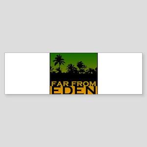 Far From Eden Rasta Theme Bumper Sticker