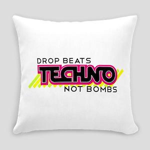Beats Not Bombs Everyday Pillow
