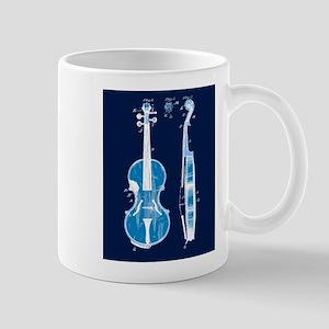 Oldtime Fiddle Blueprint Mug