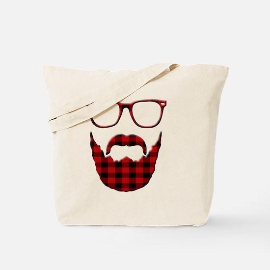 Cute Moustache Tote Bag