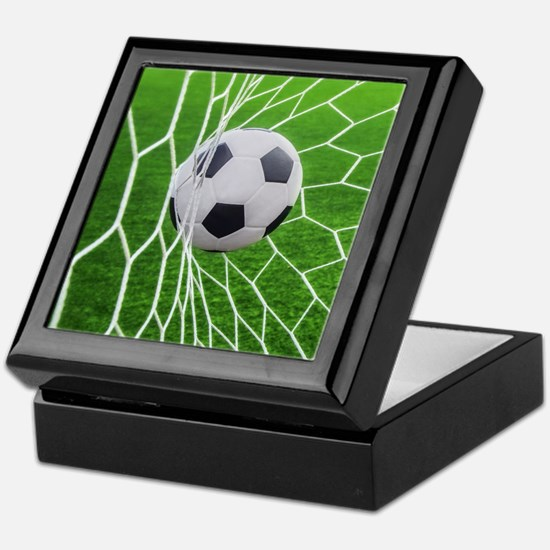 Football Goal Keepsake Box