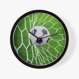 Football Goal Wall Clock