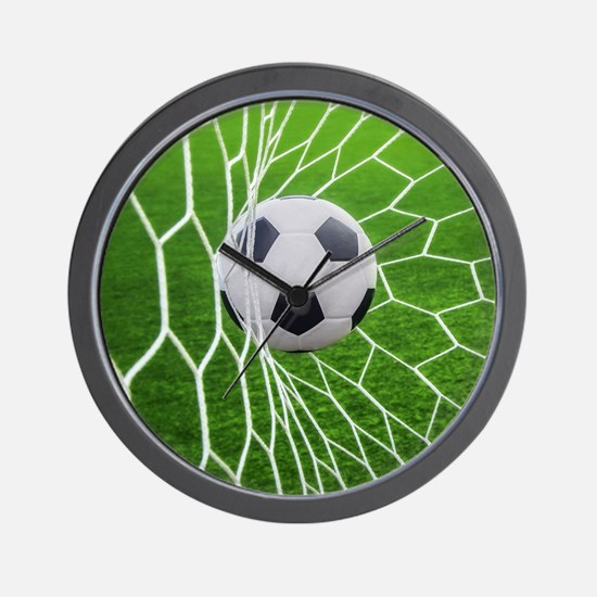 Football Goal Wall Clock