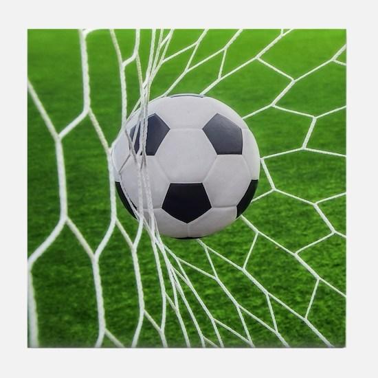Football Goal Tile Coaster