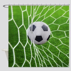 Football Goal Shower Curtain
