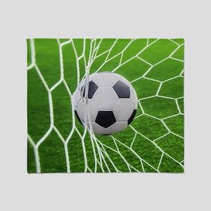 Football Goal Throw Blanket