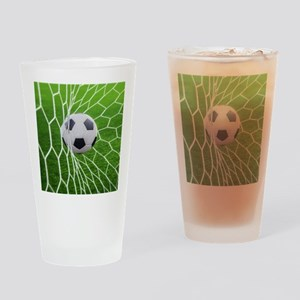 Football Goal Drinking Glass