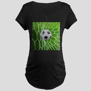 Football Goal Maternity T-Shirt