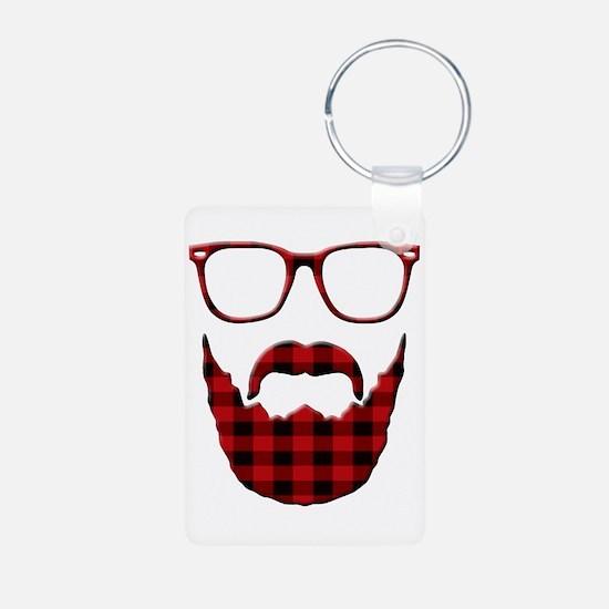 Cute Moustache Keychains