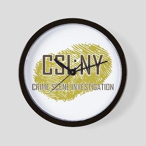 CSI : NY Wall Clock