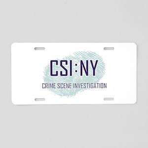 CSI : NY Aluminum License Plate