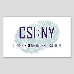 CSI : NY Sticker (Rectangle)