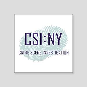 "CSI : NY Square Sticker 3"" x 3"""