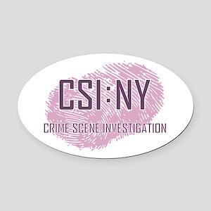 CSI : NY Oval Car Magnet