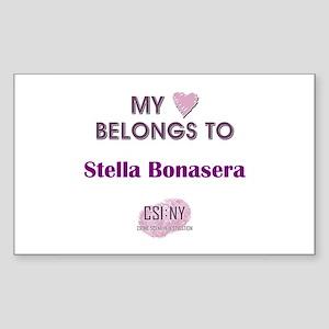 STELLA BONASERA Sticker (Rectangle)