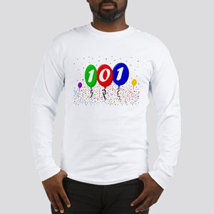 101st Birthday Long Sleeve T-Shirt