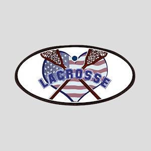 Love Lacrosse Patch
