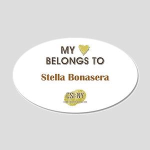 STELLA BONASERA 20x12 Oval Wall Decal