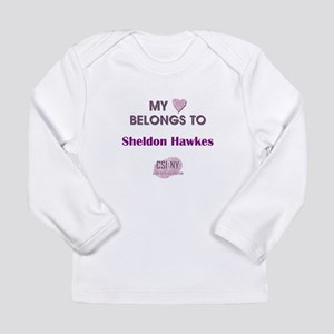 SHELDON HAWKES Long Sleeve Infant T-Shirt