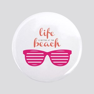 Life At Beach Button