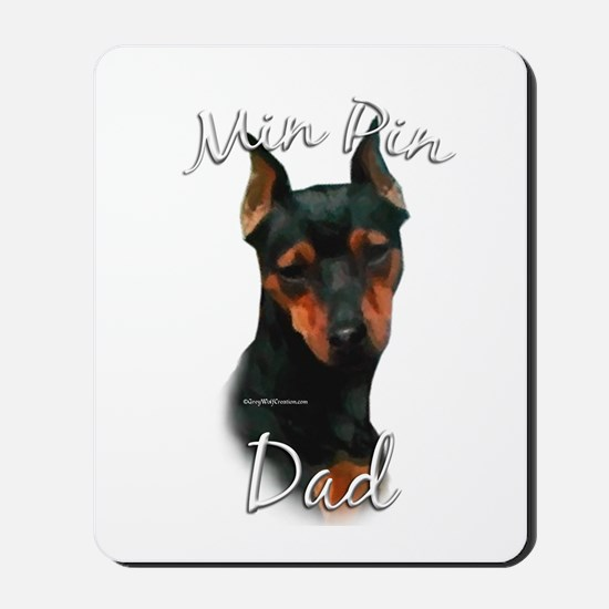 Min Pin Dad2 Mousepad