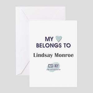 LINDSAY MONROE Greeting Card