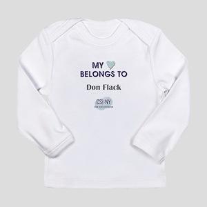 DON FLACK Long Sleeve Infant T-Shirt