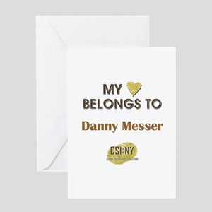 DANNY MESSER Greeting Card
