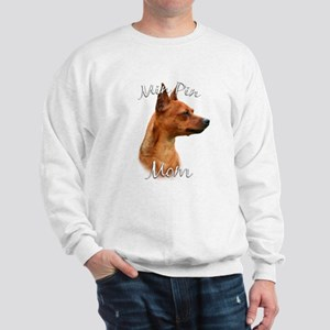 Min Pin Mom2 Sweatshirt