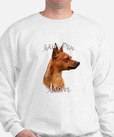 Min Pin Mom2 Sweatshirt