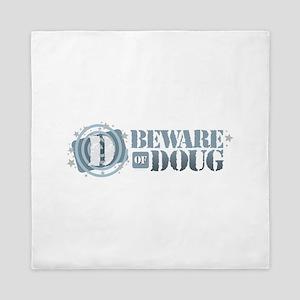 Beware of Doug Queen Duvet